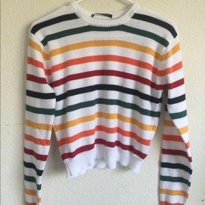 Brandy Melville Abi rainbow sweater